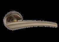 "Дверная ручка на розетке MVM ""COMETA"" A-1202 AB (старая бронза)"