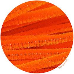Синельная проволока оранжевая, 30 см