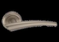 """Дверная ручка на розетке MVM """"COMETA"""" A-1202 SN (матовый никель)"""