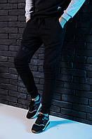 "Теплые спортивные штаны мужские Pobedov trousers ""spaceman"" black"