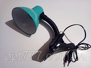 Настольная лампа на прищепке (разные цвета!!)