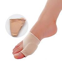 Корректоры(сепараторы) косточек на ногах (вальгус-корректор) тканевые с вставками из медицинского силико, пара