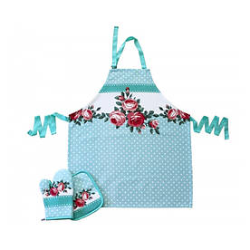 Набор для кухни Barine - Rose фартук + прихватка + рукавица