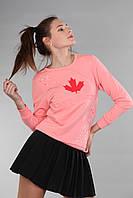Повседневная женская толстовка (реплика) Dsquared2 розового цвета