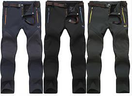 Утепленные зимние мужские штаны брюки Jack Wolfskin. Отличное качество. Доступная цена. Дешево. Код: КГ2445