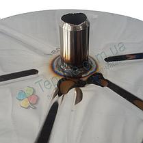 Лійка для димоходу 110 мм з нержавіючої сталі «Версія-Люкс», фото 2