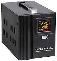 Стабілізатор напруги ІЕК СНР1-0-1,5 кВА електронний переносний