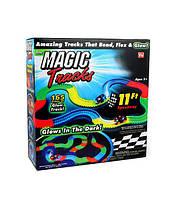 Детский светящийся гибкий трек Magic Tracks: 165 деталей (светящаяся дорога с машинкой Меджик Трек), фото 1