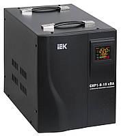 Стабілізатор напруги ІЕК СНР1-0-8 кВА електронний переносний