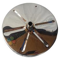 Лейка для дымохода 230 мм из нержавеющей стали «Версия Люкс», фото 3
