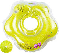Круг для купания младенцев Лайм «Kinderenok «