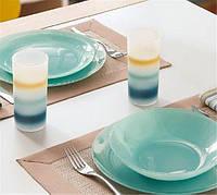 Arty Soft Blue Сервиз столовый - 18 пр Luminarc L3650