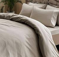Турецкое постельное белье Tac однотонный сатин Premium basic