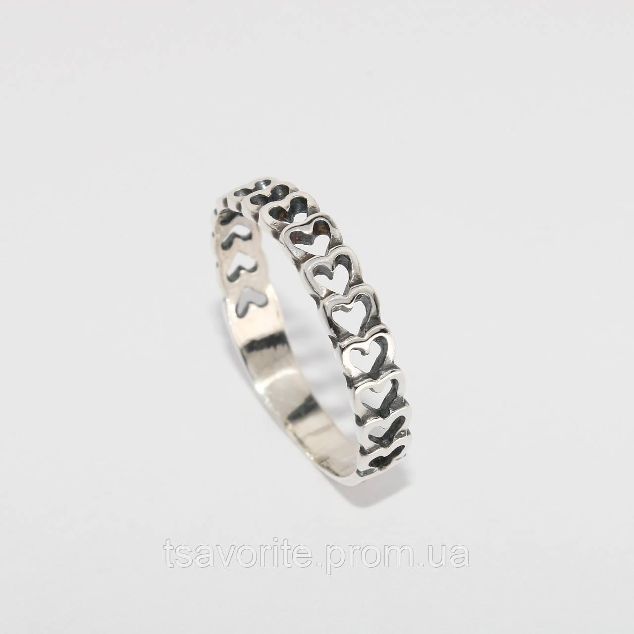 Серебряное кольцо 159КЮ