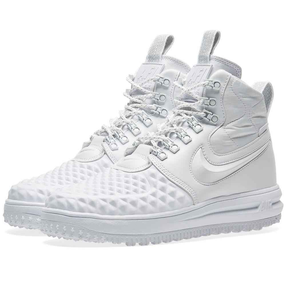 b153fb8a27c2 Оригинальные кроссовки Nike Lunar Force 1 Duckboot  17 White - Sport-Sneakers  - Оригинальные