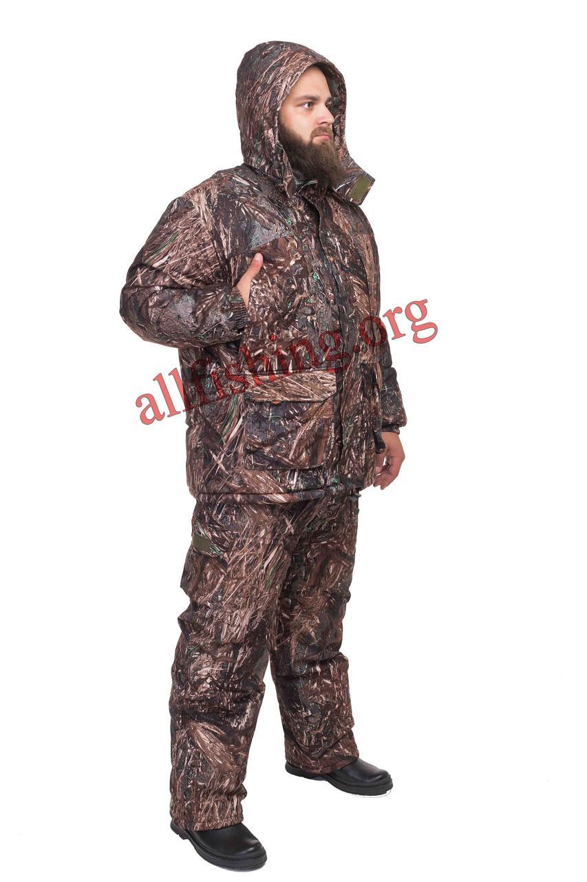"Зимний костюм рыбацкий -30 ""Лес коричневый"""