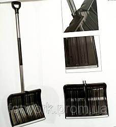 Снегоуборочная лопата с металлической рукояткой