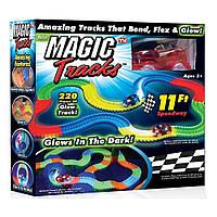 Детский светящийся гибкий трек Magic Tracks: 265 деталей (светящаяся дорога с машинкой Меджик Трек), фото 1