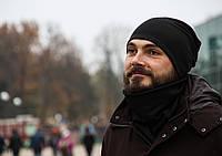 Мужской комплект шапка+шарф бафф I&M - 090215