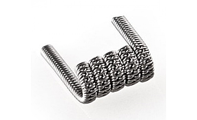 Staggered fused clapton coil  стагерд койл