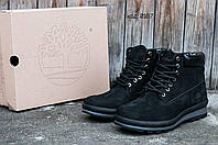 Зимние мужские ботинки Timberland  (Тимберленд) с мехом