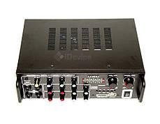 Усилитель звука UKC AV-329BT Bluetooth, Karaoke, фото 2
