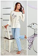 Пижама женская 44 46p хлопок Regina 809 Польша