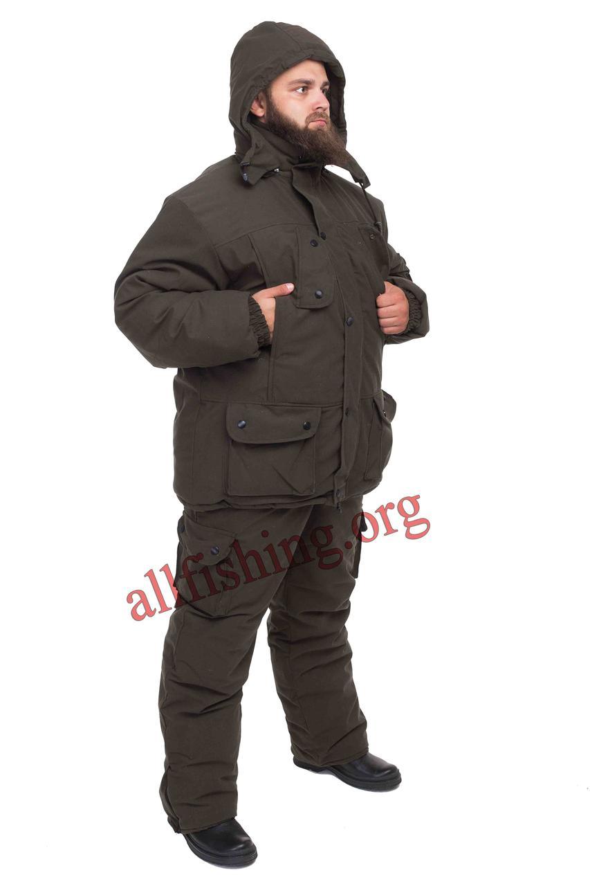 Рыболовный зимний костюм -30 (Оливковый)