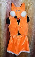 Лисичка , Лиса  карнавальный  - новогодний костюм для девочки