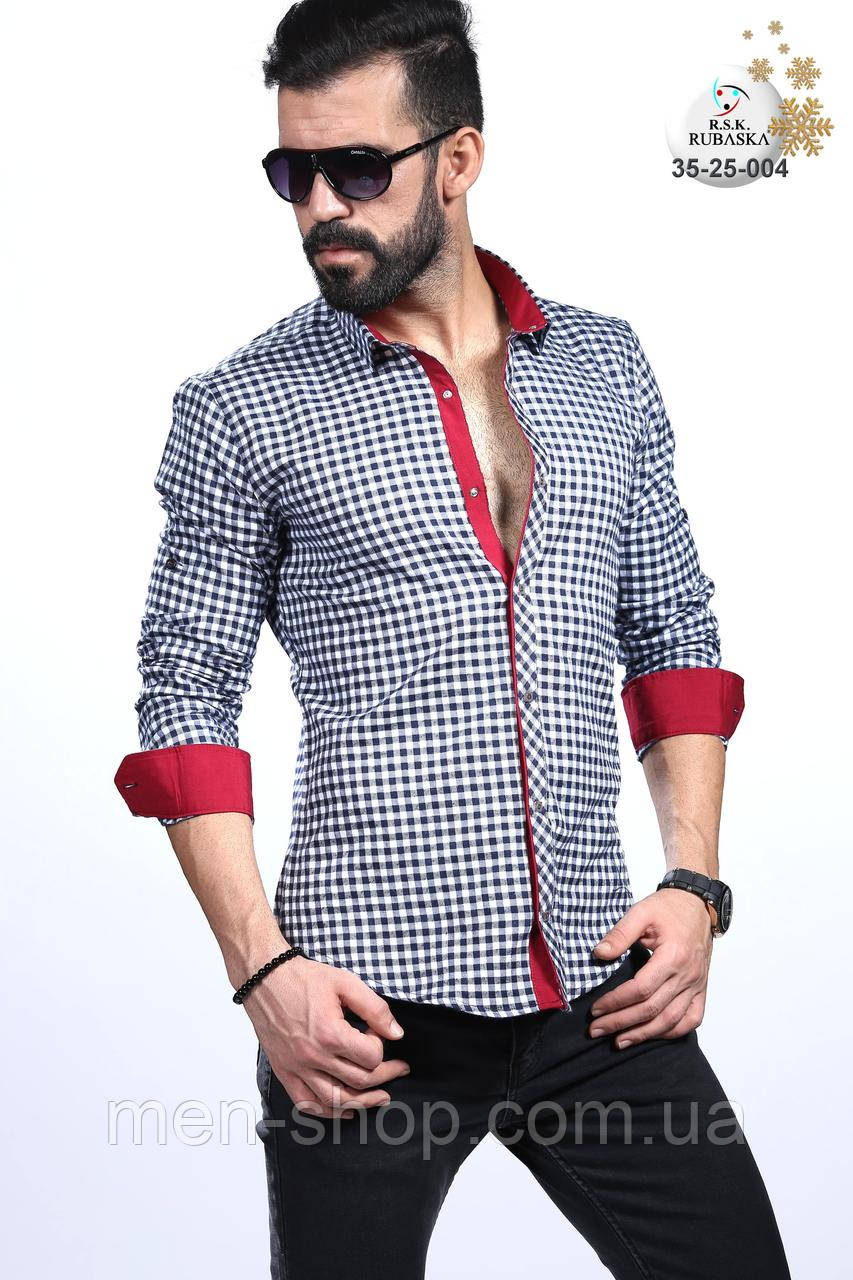 Красивая мужская рубашка на подарок