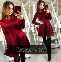 Платье женское ,Ткань дайвинг много расцветок ,супер качество фото реал лкар № камушки