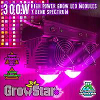 Фитолампа 300W. Grow LED Lamp 300W (2X150W) 7 Band Spectrum.