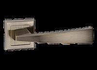 """Дверная ручка на розетке MVM """"FRIO"""" Z-1215 AB (старая бронза)"""