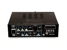 Усилитель звука UKC AV-323BT Bluetooth, USB, фото 2