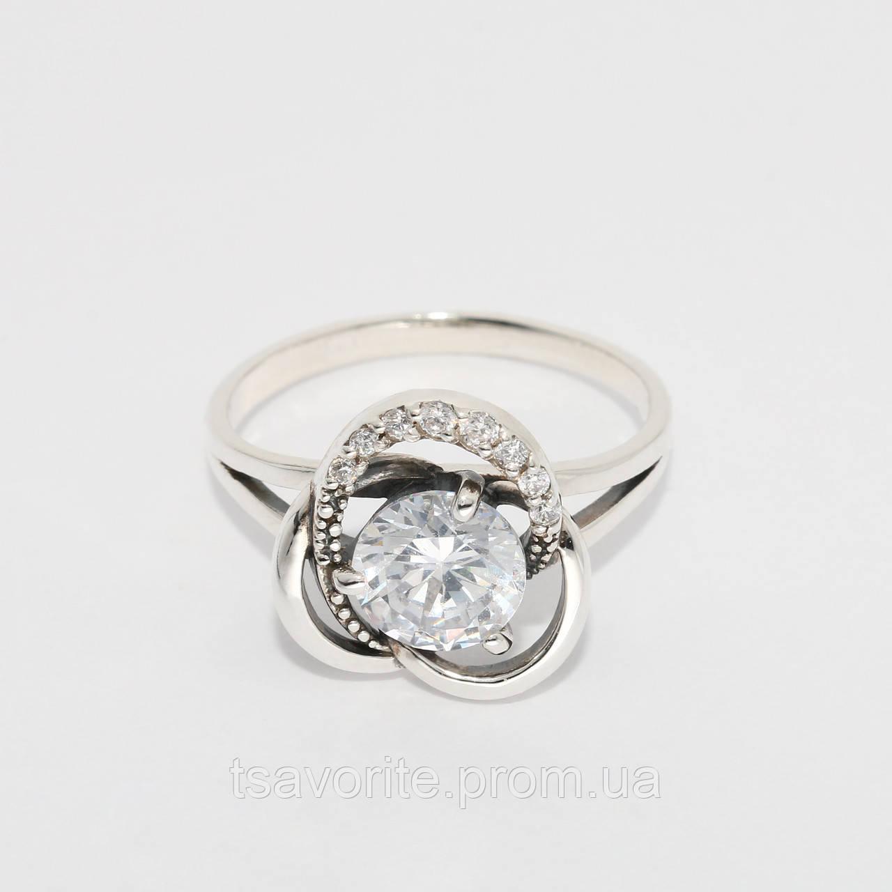 Серебряное кольцо 161КЮ