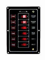 Панель на 6 переключателей 10069