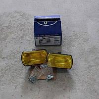 Фара квадратная 12-24V желтая противотуманная