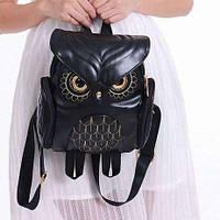 Стильный женский Рюкзак сумка Сова! + Подарок Спинер.