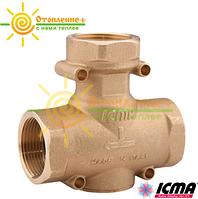 Icma антиконденсационный термостатический смесительный клапан 1 1/4' 45°C