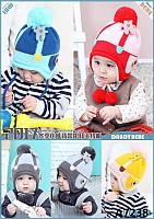 """Шапка детская""""Кукла """"от 2 до 5 лет."""