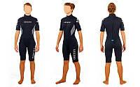Гидрокостюм для серфинга,водных лыж жен. LEGEND PL-6406W(L) (3мм неопр,р-р L-164-169см, 59-65кг)