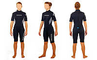 Гидрокостюм для серфинга,водных лыж жен. LEGEND PL-6406W(M) (3мм неопр,р-р M-160-165см, 54-59кг)