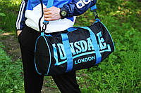 Спортивная сумка лонсдейл,Lonsdale синяя