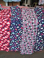 Штаны пижамные флисовые