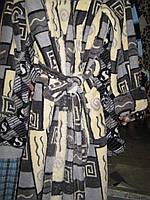 Халаты мужские махровые на запах с рисунком