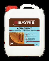 Грунтовка биозащитная для дерева AQUAGRUNT БАЙРИС (бесцветная) 5л