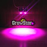 Фитолампа GrowStar 300W Полноспектровая. Grow LED Lamp 300W Full Spectrum 340-840nm., фото 2