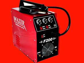 Сварочный полуавтомат на 200 Ампер Темп «WAZER» F-200 200A-220/380V (MIG-MMA)