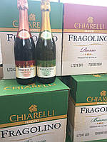 Вино игристое полусладкое Fragolino Chiarelli белое красное Фраголино bianco rosso Италия