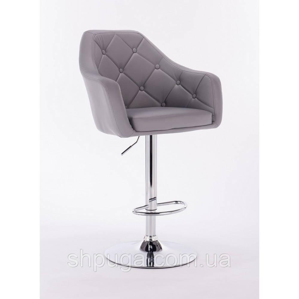 Кресло -стул визажный , барный код 500 кожзам  цвет на выбор.